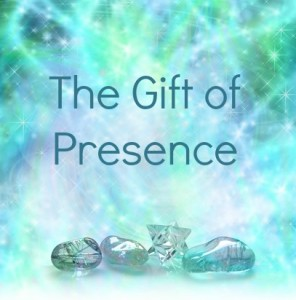 Gift of Presence Image with wording