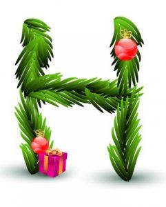 christmas-letter-h