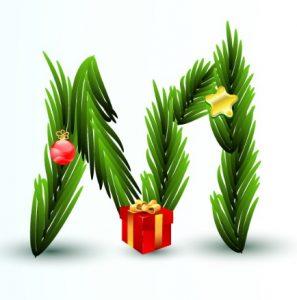 christmas-letter-m